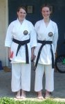 Black Belt 1st Dan & 2nd Dan - August 2015