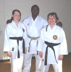 with sensei wayne otto obe